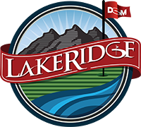 LakeRidge Golf Course Logo